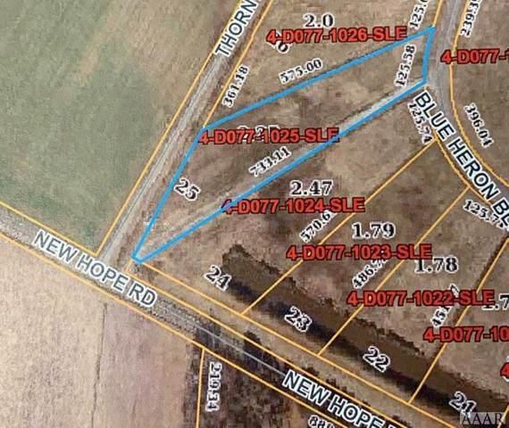 Lot #25 New Hope Road, Hertford, NC 27944 (MLS #102627) :: AtCoastal Realty