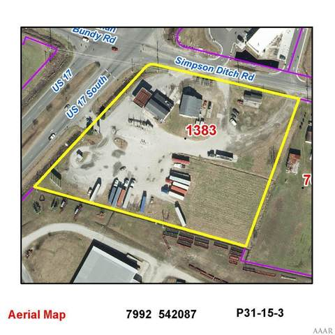 1383 Hwy 17, Elizabeth City, NC 27909 (MLS #98452) :: Chantel Ray Real Estate