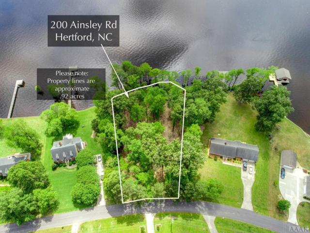 200 Ainsley Road, Hertford, NC 27944 (MLS #93925) :: AtCoastal Realty