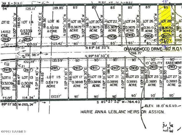 2902 Orangewood Dr., Abbeville, LA 70510 (MLS #17009932) :: Keaty Real Estate