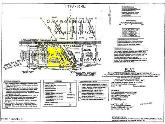 2813 Orangewood Drive, Abbeville, LA 70510 (MLS #17010025) :: Keaty Real Estate