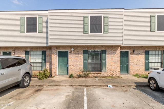 100 Winchester Drive #105, Lafayette, LA 70506 (MLS #17010153) :: Keaty Real Estate