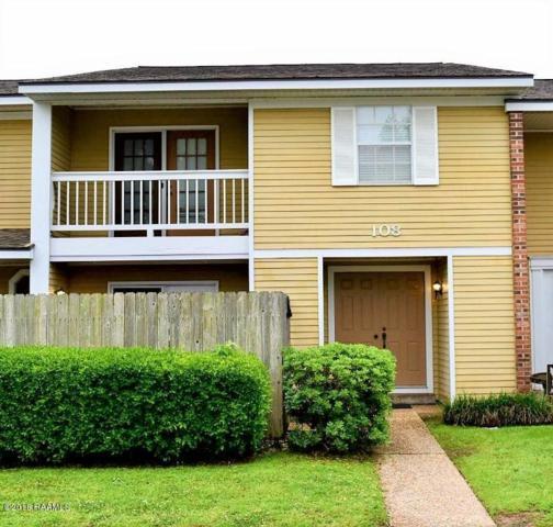 200 Lodge Drive #108, Lafayette, LA 70506 (MLS #18006718) :: Cachet Real Estate