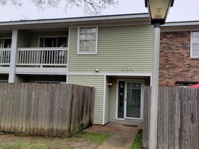 200 Lodge Drive #204, Lafayette, LA 70506 (MLS #19001915) :: Keaty Real Estate