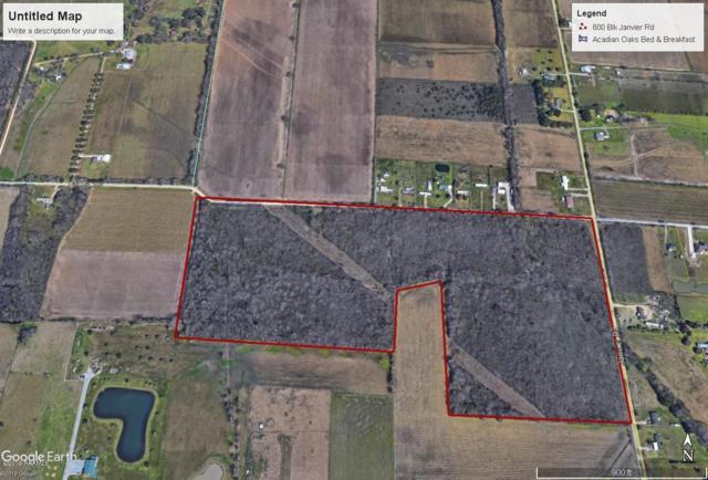 600 Blk Janvier Road, Scott, LA 70583 (MLS #19004132) :: Keaty Real Estate