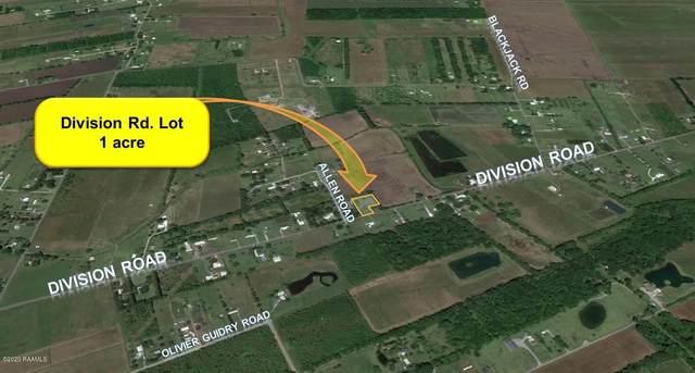 Tbd Division Road, Arnaudville, LA 70512 (MLS #20001434) :: Keaty Real Estate