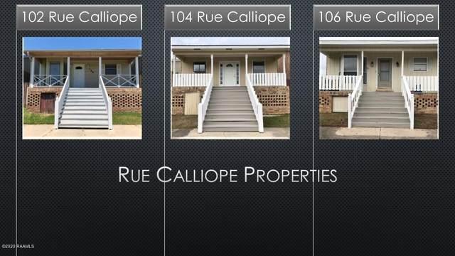 104 Rue Calliope 102,106, Carencro, LA 70520 (MLS #20001494) :: Keaty Real Estate