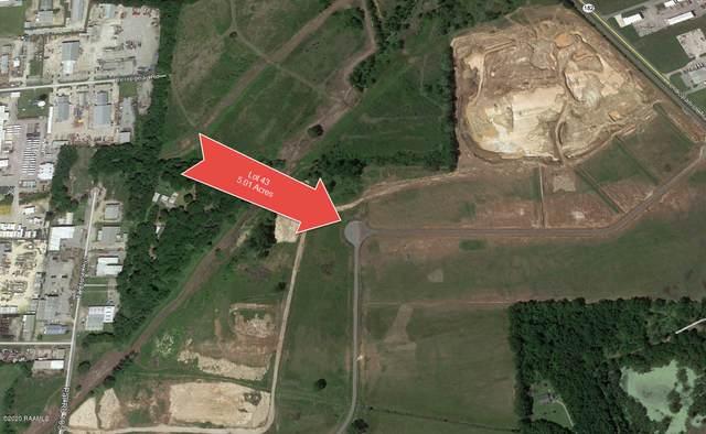 Lot 43 Spanish Trail Industrial Park, Broussard, LA 70518 (MLS #20002913) :: Keaty Real Estate