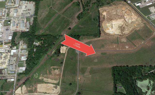 Lot 25 Spanish Trail Industrial Park, Broussard, LA 70518 (MLS #20002915) :: Keaty Real Estate