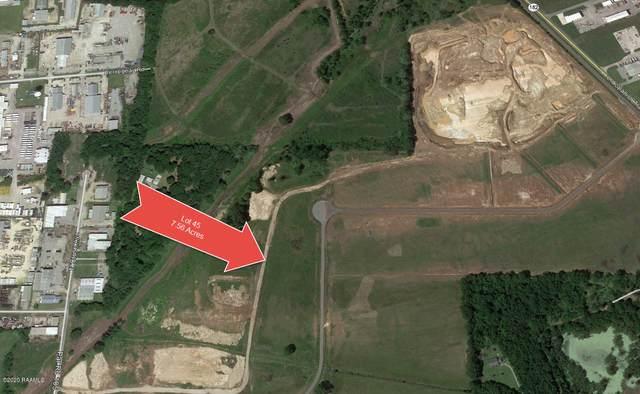 Lot 45 Spanish Trail Industrial Park, Broussard, LA 70518 (MLS #20002916) :: Keaty Real Estate