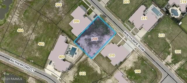 208 Winthorpe Row, Lafayette, LA 70503 (MLS #20003515) :: Keaty Real Estate
