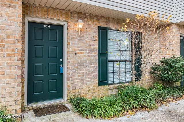 100 Winchester Drive #704, Lafayette, LA 70506 (MLS #20010964) :: Keaty Real Estate