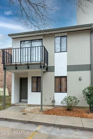 3500 E Simcoe St Street #62, Lafayette, LA 70501 (MLS #21000231) :: Keaty Real Estate