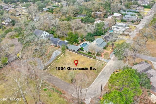 1504 Greenbriar Road, Lafayette, LA 70503 (MLS #21000736) :: Keaty Real Estate
