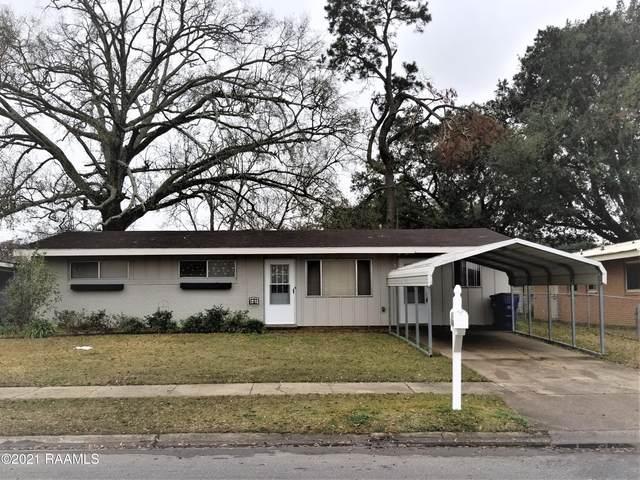 914 Mary Anne Street, Opelousas, LA 70570 (MLS #21000737) :: Keaty Real Estate