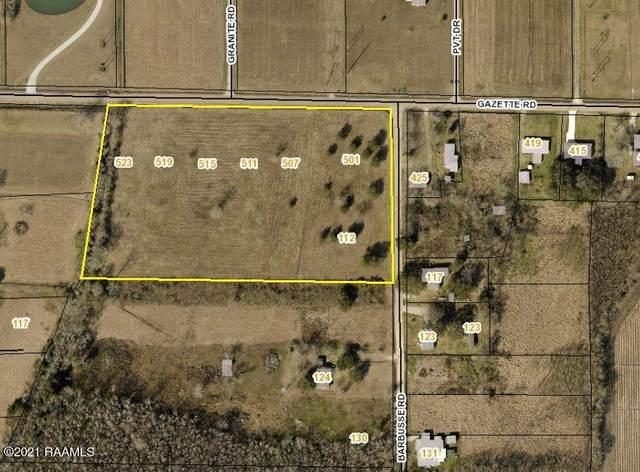 501 Gazette Road, Scott, LA 70583 (MLS #21001135) :: Keaty Real Estate