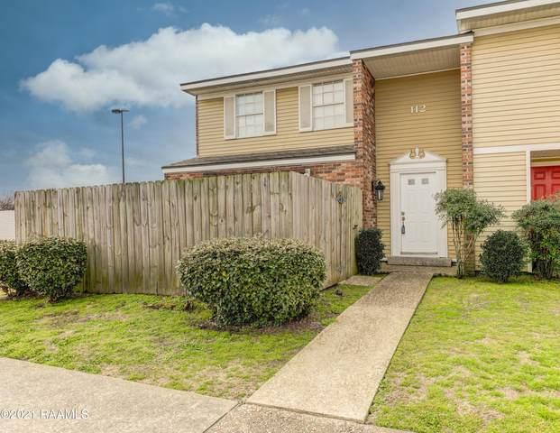 200 Lodge Drive #112, Lafayette, LA 70506 (MLS #21001679) :: Keaty Real Estate