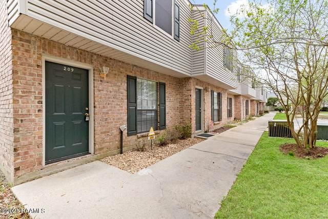 100 Winchester Drive #209, Lafayette, LA 70506 (MLS #21002444) :: Keaty Real Estate