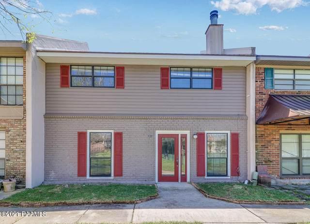 200 Dublin Circle G, Lafayette, LA 70506 (MLS #21002880) :: Keaty Real Estate