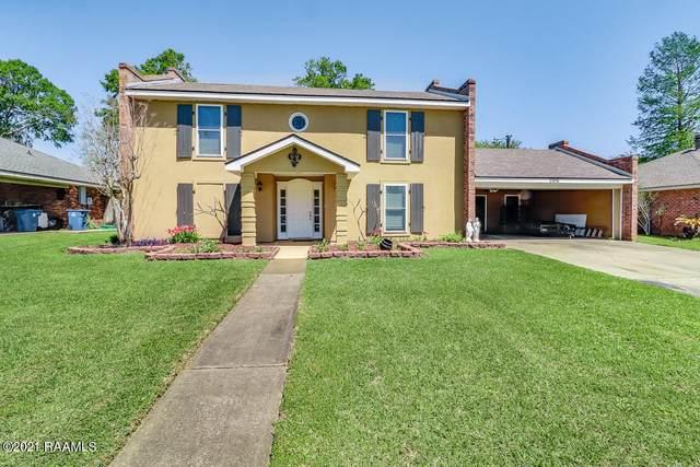 206 Confederate Avenue, Broussard, LA 70518 (MLS #21003011) :: Keaty Real Estate