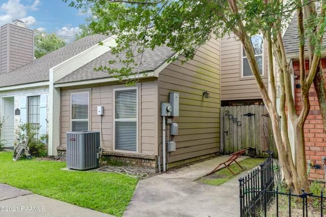 206 Long Plantation Boulevard G, Lafayette, LA 70508 (MLS #21005371) :: Keaty Real Estate