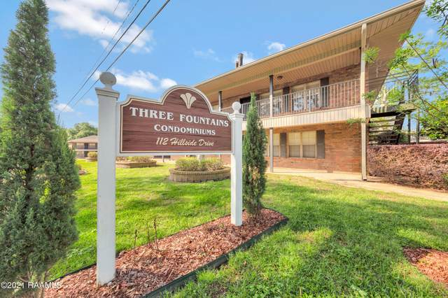 112 Hillside Drive #23, Lafayette, LA 70503 (MLS #21005625) :: United Properties