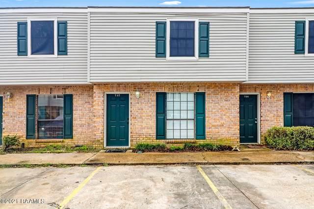 100 Winchester Drive #707, Lafayette, LA 70506 (MLS #21006550) :: United Properties