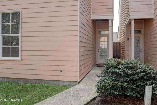 400 W Brentwood Boulevard #22, Lafayette, LA 70506 (MLS #21008648) :: Keaty Real Estate