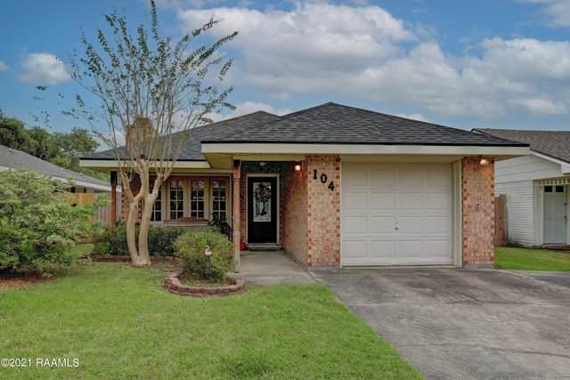104 Darteze Drive, Lafayette, LA 70508 (MLS #21009396) :: United Properties