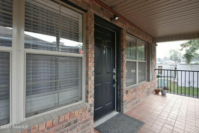 112 Hillside Drive #32, Lafayette, LA 70503 (MLS #21009548) :: Keaty Real Estate