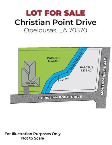 00 Christian Point Drive, Opelousas, LA 70570 (MLS #20007150) :: Keaty Real Estate