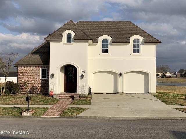 106 Deer Run Drive, Lafayette, LA 70506 (MLS #21001110) :: Keaty Real Estate