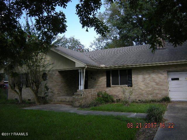 312 Thelma Drive, Sunset, LA 70584 (MLS #17008806) :: Red Door Realty
