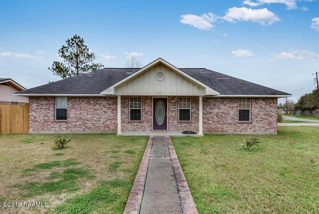 163 Avenue A, Opelousas, LA 70570 (MLS #19001893) :: Keaty Real Estate