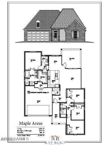 18 Hammock Lane, Breaux Bridge, LA 70517 (MLS #20006476) :: Keaty Real Estate
