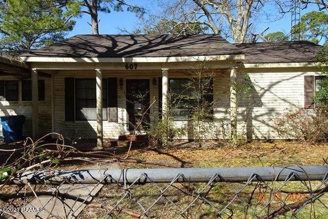 607 Ashton Street, New Iberia, LA 70563 (MLS #21000710) :: Keaty Real Estate