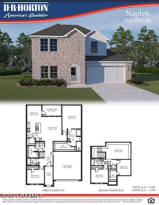 115 Nova Lake Drive, Duson, LA 70529 (MLS #21001695) :: Keaty Real Estate