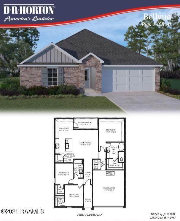 122 Nova Lake Drive, Duson, LA 70529 (MLS #21003343) :: Keaty Real Estate
