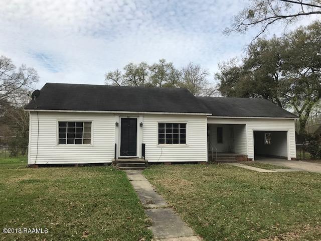301 N Beulah Street, Eunice, LA 70535 (MLS #18001627) :: Keaty Real Estate