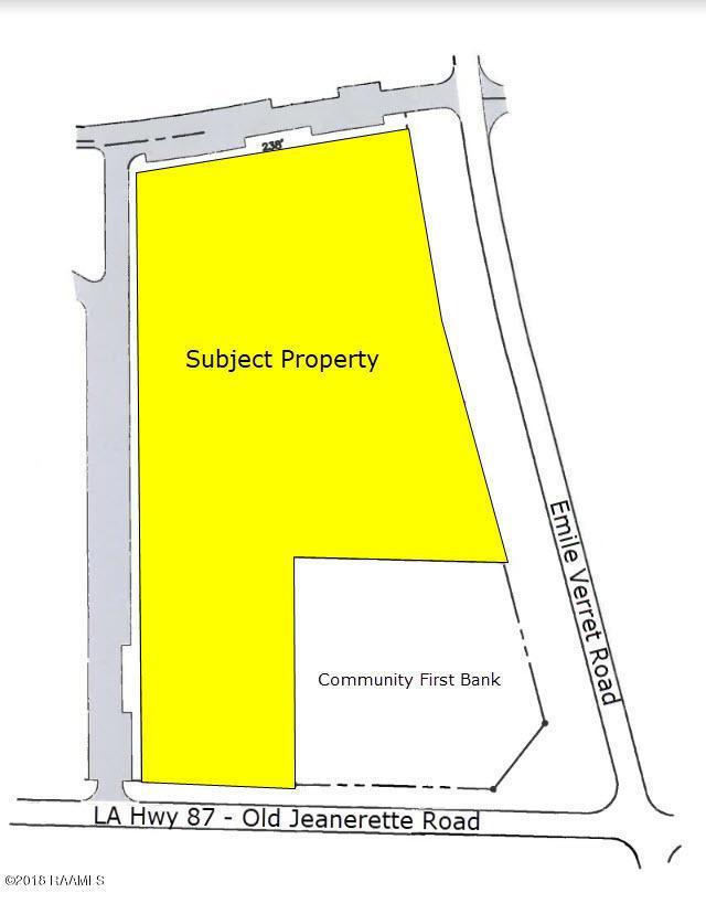 Old Jeanerette /Emile Verret Road, New Iberia, LA 70560 (MLS #18010454) :: Keaty Real Estate
