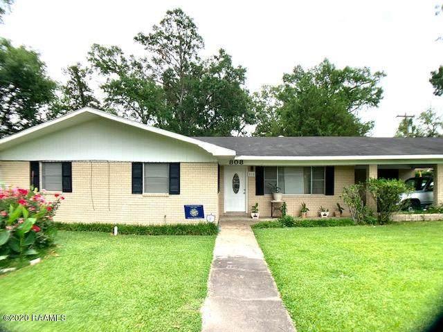 808 Garland Avenue, Opelousas, LA 70570 (MLS #20004349) :: Keaty Real Estate