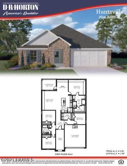 205 Acadian Lakes Drive, Duson, LA 70529 (MLS #21006775) :: Keaty Real Estate