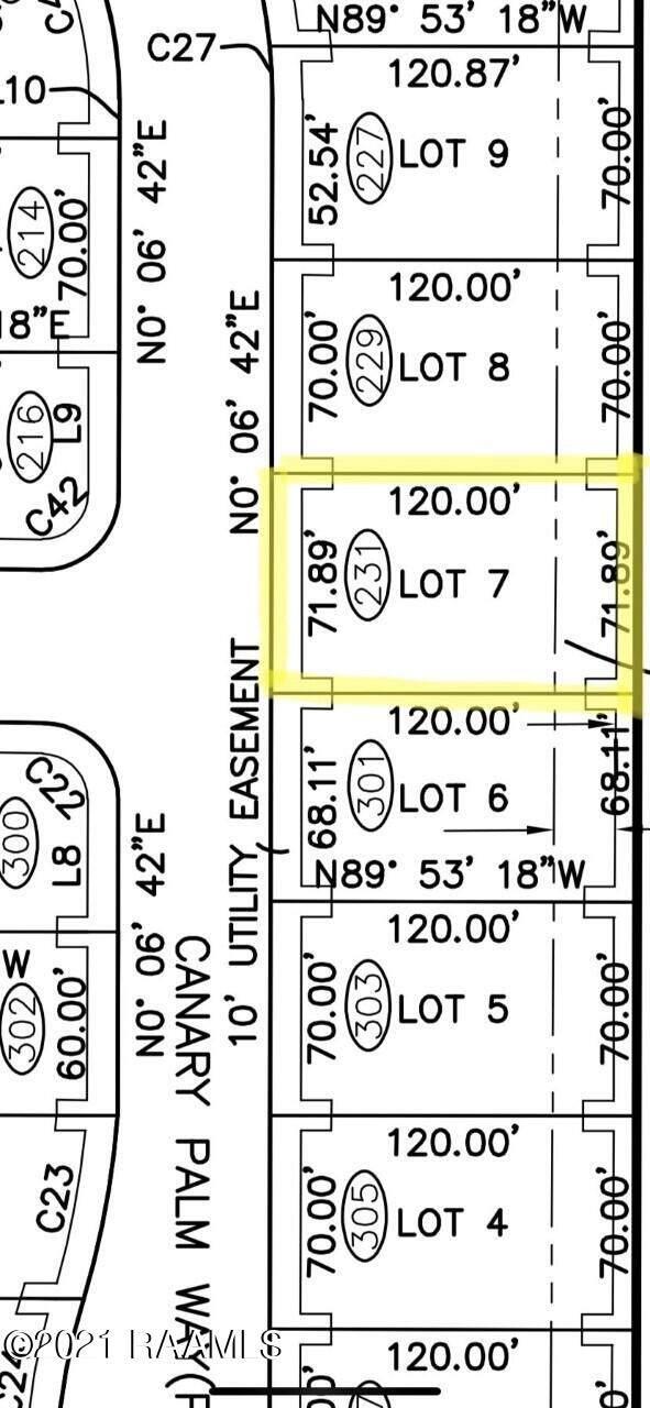 231 Canary Palm Way, Broussard, LA 70518 (MLS #21009771) :: Keaty Real Estate