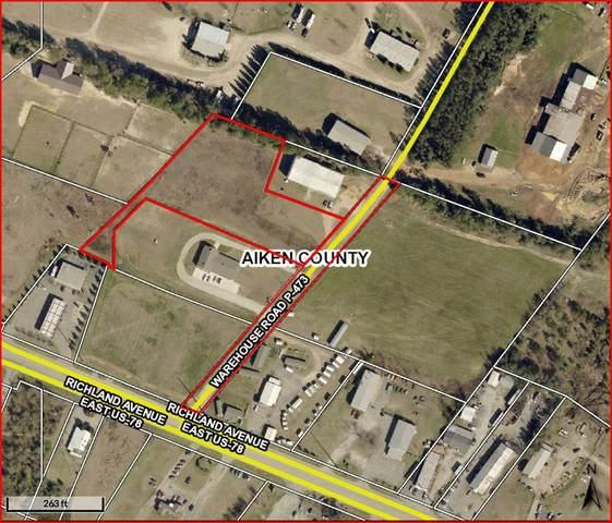 000 Warehouse Road, AIKEN, SC 29801 (MLS #110968) :: Fabulous Aiken Homes & Lake Murray Premier Properties