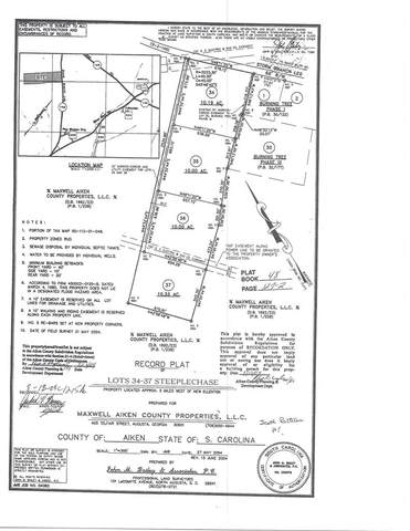 Lot 37 Storm Branch Leg Road, AIKEN, SC 29803 (MLS #111757) :: Fabulous Aiken Homes
