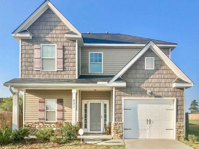 651 Turning Crest Lane, GRANITEVILLE, SC 29829 (MLS #113932) :: Fabulous Aiken Homes