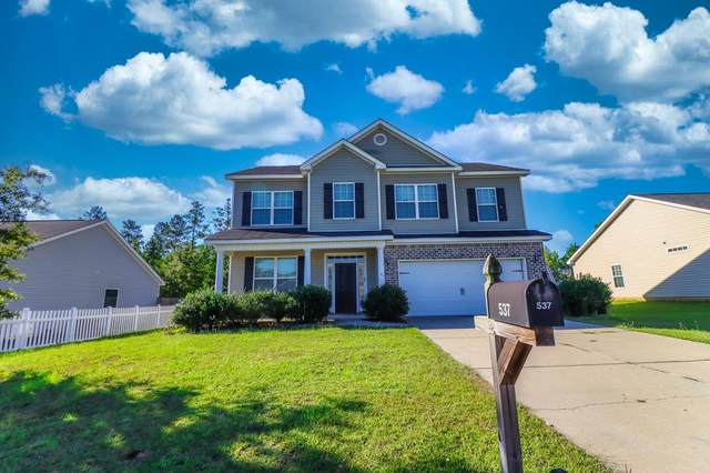 537 Brewer Drive, AIKEN, SC 29803 (MLS #113938) :: Shannon Rollings Real Estate