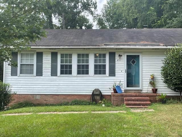 651 Lorraine Drive, NORTH AUGUSTA, SC 29841 (MLS #118155) :: Tonda Booker Real Estate Sales