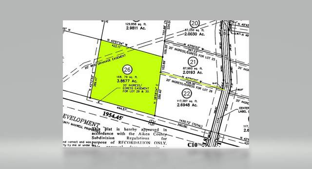 Lot 26 Maxwell Road, AIKEN, SC 20803 (MLS #112015) :: Fabulous Aiken Homes