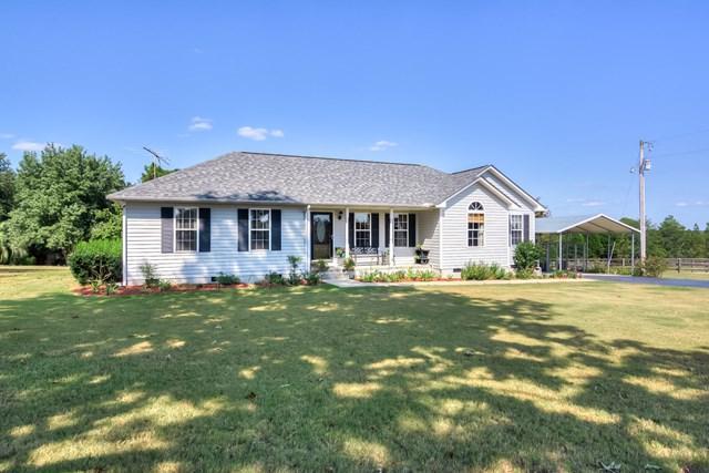 1395 Dairy Road, RIDGE SPRING, SC 29129 (MLS #100039) :: Shannon Rollings Real Estate